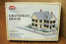 MODEL POWER GRANDMA'S HOUSE N SCALE BUILDING KIT