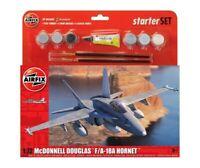 AIRFIX A55313 Large Starter Set McDonnell Douglas F-18A Hornet 1:72 New & Sealed