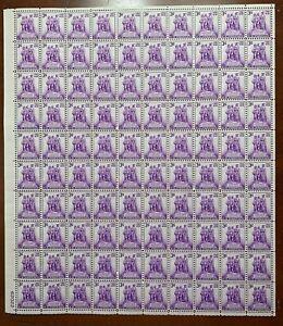 US #837 1938 3c Northwest Territory Sesquicentennial. MNH F-VF
