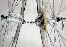 VINTAGE KUN TENG WEINMANN 519 BICYCLE 700C 8 SPEED WHEEL SET 135 MM