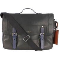 Ted Baker Boombag Colour Block Messenger Bag - Black (ORIGINAL PRICE: £244.95)