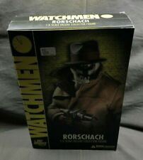 DC Direct Watchmen Rorschach 1/6 Scale Deluxe Figure NEW IN BOX MINT