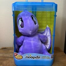 "NEW Neopets Purple Shoyru 12"" Interactive Talking Plush 2003 Thinkway Toys RARE!"