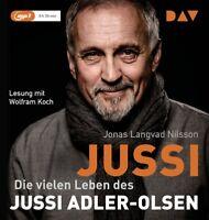 JONAS LANGVAD NILSSON- USSI.DIE VIELEN LEBEN DES JUSSI ADLER-OLSEN   MP3 CD NEW