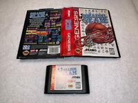 College Slam (Sega Genesis, 1996) Game Cartridge in Case Vr Nice!