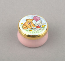 Crummles Enamels - Teddy Bear & Rabbit Box