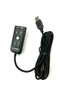 Kingston HyperX USB Sound Card Virtual 7.1 Surround Sound PC/MAC/PS4/XBOX AMP