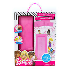 Barbie Fashion Plates All-in-One Studio, 45 Pc FREE SHIPPING New In Box
