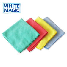 White Magic Microfibre Cleaning Cloth & Towel General Purpose Cloth 40x40cm