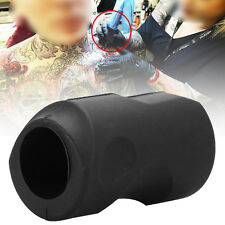 Pro Grip Silicone Rubber Tattoo Machine Gun Grip Cover Handle Holder 25mm AF
