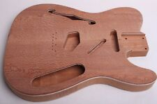 BYOGuitar Mahogany/Maple/Lacewood 69 Thinline Tele Body 2017 Unfinished