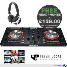 Numark Mixtrack Pro 3 DJ Controller Av32 Active Speakers Bundle Headphones