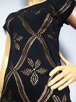 """FINAL SALE"" Roberto Cavalli   black shirt blouse top sz XS S M L"