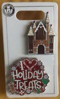 Disney Park Holiday Treats Christmas Pin Set