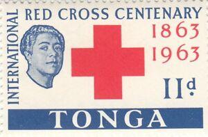TONGA 1963, 100th Anniversary of the Red Cross. 11d. QEII. MNH