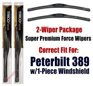 Wipers 2-Pack Hi-Performance fits 2011+ Peterbilt 389 - 25160x2