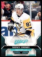 2020-21 UD MVP Base SP #203 Sidney Crosby - Pittsburgh Penguins