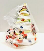 2020 Disney Parks White Christmas Tree Mickey Minnie Popcorn Bucket SEALED
