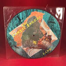 """THE COMSAT ANGELS Land 1983 UK 12"""" Vinyl  PICTURE DISC LP EXCELLENT CONDITION"""