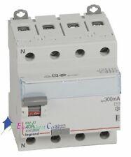 Inter différentiel 4P40A 300mA type AC Vis/Vis Legrand 411665