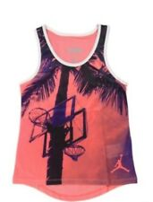 Nike Air Jordan Girls Fitted Sublimation Girls' Jersey Jumpman -Shirt Size XL