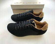 Giro Republic Black Canvas / Gum Cycling Shoes 41 EU / 8 US New in Box