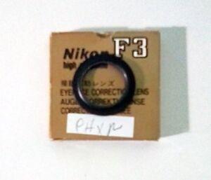 Nikon (VIntage) F3 High Eyepoint Correction Lens