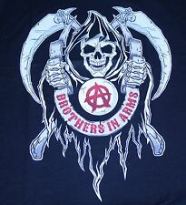 """""""Brothers In Arms"""" Sons of Anarchy Men's Large Shirt Teevillain"""