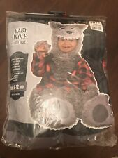 Baby Wolf Halloween Costume for Infants 6-12 Months Preowned - Missing Wolf Feet