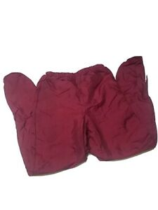 VarsityCheer Cheerleading Warm Up Pants medium maroon