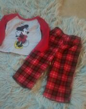 Disney Minnie Mouse Pajamas Girls 2T