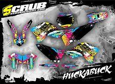 SCRUB KTM graphics decals kit EXC 125 250 300 450 530 2008 - 2011 '08-'11