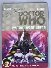 Doctor Who: Pyramids of Mars - Dvd Region 2 Autographed By Tom Baker!