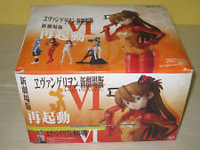 EVANGELION PORTRAITS VI - Complete Box -12 BLIND BOX FIGURES - Bandai NEW SEALED