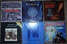 "57 Vinyl LP & 12"" records job lot Collection Beatles, Iron Maiden, Metallica"