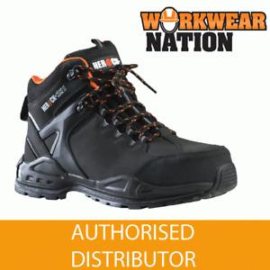 Herock Gigantes Composite Toe Cap S3 Work Boots Black