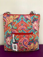 NWT Vera Bradley Hipster Crossbody Bag IN PAISLEY IN PARADISE