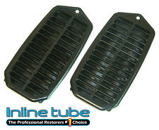 1969-81 GM Door Jamb Interior Jam Quarter Panel Plastic Vents Louver Rubber 2pc