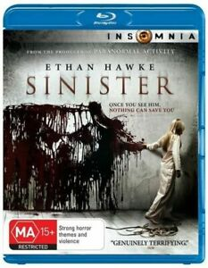 Sinister (Blu-Ray) New / Sealed