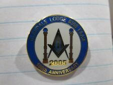 Masons' Pins: Glendale Lodge #368 F&AM, 100th Anniversary, 2005