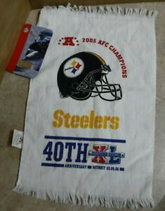 PITTSBURGH STEELERS VINTAGE TERRIBLE TOWEL 2005 AFC CHAMPIONSHIP SUPER BOWL XL