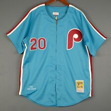 100% Authentic Mike Schmidt Mitchell Ness Phillies Jersey Size 48 XL