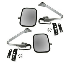 1980-1997 Ford F Series Pickup/Ranger/Bronco New Side View Door Mirror Pair/Set