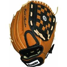 "13"" Baseball Glove Franklin Sports 4197 worn on left hand pre-oiled glove"