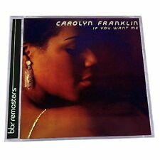 Carolyn Franklin - If You Want Me Expanded Edition BBR    New cd + bonustrack