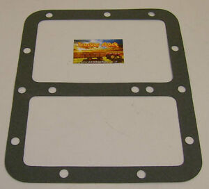 GASKET, GEARBOX LID/ TRANSMISSION COVER; FORD NH TRACTORS (various, see listing)