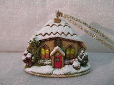 Lilliput Lane Mince Pie 2007 Christmas Ornament L2990 Nib Deed