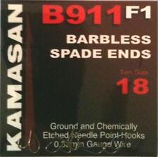 Kamasan B911 F1 Barbless Spade End 16