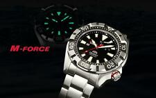 Orient M-Force MADE IN JAPAN Men's Automatic Power Reserve Dive Watch $1200 NEW