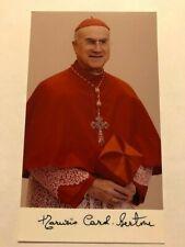 Kardinal Tarcisio Bertone  Original sign.